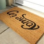 Coco Beige & Black Reversible Doormat 014