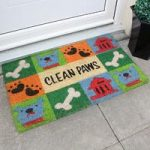 Coco Bright Coir Dog Paw Doormat 017
