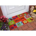 Coco Bright Colourful Welcome Garden Mat 355