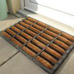 Coco Durable Natural Coir & Rubber Dirt Scraper Doormat 526