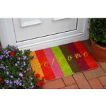 Coco Funky Vibrant Welcome Stripes Doormat 568 40x60cm