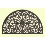 Coco Semi Circle Wrought Iron Style Doormat 06HM