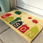 Coco Modern Colourful Anti Slip Entrance Mat 016