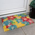 Coco Multi Bright Floral Entrance Doormat 597