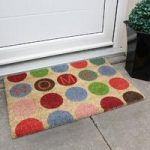 Coco Multi Circles Home Pattern Doormat 09