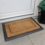 Coco Plain Thick Coir & Rubber Doormat 854