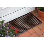 Coco Tough Black Rubber Hollow Doormat 005 40cm x 60cm