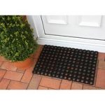 Coco Tough Black Rubber Links Hollow Doormat 0003