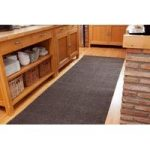 Heavy Duty Hardwearing Brown Runner Rug Any Length – 1 Metre Wide
