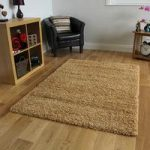 High Quality Beige Soft Touch Shag Pile Rug – Ontario 60×110 (2ft x