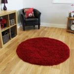 Soft Touch Warm Opulent Cosy Wine Shaggy Rug – Ontario 120cm (3ft11 )