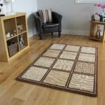 Bombay Brown & Beige Animal Safari Style Rugs 6510 – 110 cm x 160 cm