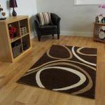 Bombay Modern Chocolate Brown & Beige Rug 9050 – 110 cm x 160 cm (3'7