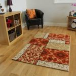 Bombay Traditional Style Terracotta & Beige Rug 8725 – 110 cm x 160 cm