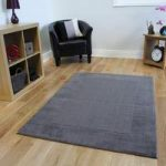 Grey Modern Wool Rug Milano – 150x210cm (4ft 11 x 6ft 11 )