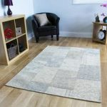 Beige Rossini Cotton Rug – 155 cm x 230 cm (5'1 x 7'7 )