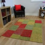 Colourful Multi Rossini Cotton Rugs – 120 cm x 170 cm (4′ x 5'6 )