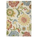 Sofia Floral Multi Wool Rugs 110cm x 160cm (3ft 7 x 5ft 2 )