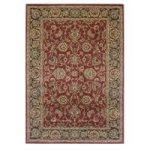Traditional Red Beige Extra Long Runner Rug Ziegler 80cmx260cm (2'6
