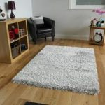 Super Soft High Shine Silver Grey Dense Shaggy Rugs – Calgary