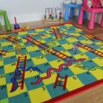 Fun Snakes & Ladders Kids Play Mat – Apollo 133×133