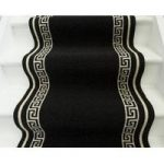 Luna Cut to Measure Roll Black and Cream Pattern – 66cm Wide Sold Per