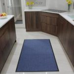 Blue Washable Barrier Mat Altea 90x150cm