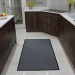 Grey Washable Barrier Mat Altea 40x60cm