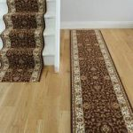 Chocolate Brown Country Cottage Style Stair Carpet – Lima 199 Brown