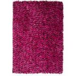 Pink Modern Shaggy Rug Carnaby Small