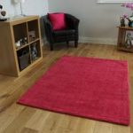 Pink Shaggy Rug Savoy Large
