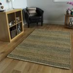 Blue Jute Kitchen Rug – Ottawa – 80x150cm (2ft 6 x 5ft)