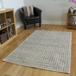 Taupe Modern Wool Rug – Valencia – 160 x 230cm (5ft 3 x 7ft 6 )