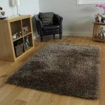 High Quality Beige Thin Strand Soft Shaggy Rug- Memphis 120×170