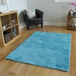 Light Blue High Sheen Quality Modern Rug – Juno 80×150