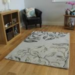 Grey Modern Carved Wool Rug – Essence – 160 x 230cm (5ft 3 x 7ft 6 )