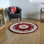 Traditional Red Wool Rug – Riga 120cm (4ft)