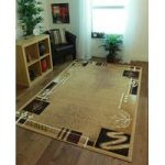 Shiraz Modern Beige & Brown 8160-B55- 160cm x 230cm (5ft 3 x 7ft 7 )