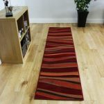 Shiraz Warm Red Brown & Orange Runner Rug 7810-S55