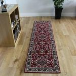 Luxury Traditional Red Design Rug 886 – Kensington 60x225cm