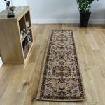 Luxurious Soft Victorian Berber Patterned Rug – Kensington 60x225cm