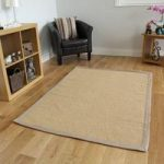 Natural Dobby Weave Jute Rug Prague 80X150