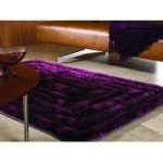 Purple Steps Shaggy Rug Kiev 120X170
