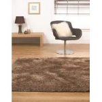 Brown Shag Area Rug Alglers 135X135