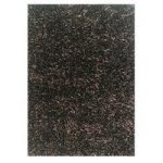 Champagne Chocolate Spider Shaggy Rug Palmas 110X160