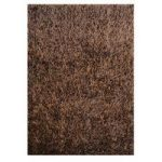 Brown Spider Shaggy Rug Palmas 180X270