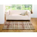 Natural Criss Cross Modern Rug Banbury 80X150
