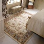Cream & Green Ziegler Traditional Rug Chobi 80X150