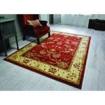 Red & Cream Ziegler Traditional Rug Chobi 80X150