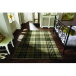 Green Green Highland Tartan Rug Inverness 80X150